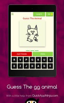 Guess The GG Animal screenshot 9