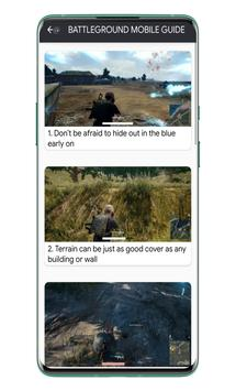 Battlegrounds Mobile India Guides स्क्रीनशॉट 5