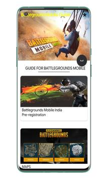 Battlegrounds Mobile India Guides स्क्रीनशॉट 4
