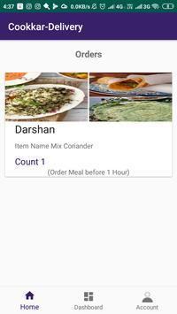 Cookkar Delivery poster
