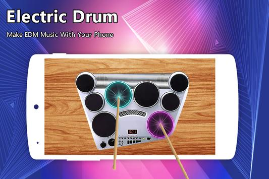Electric Drum poster