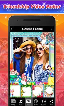 Friendship Photos Video Maker screenshot 1