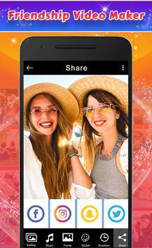 Friendship Photos Video Maker screenshot 3