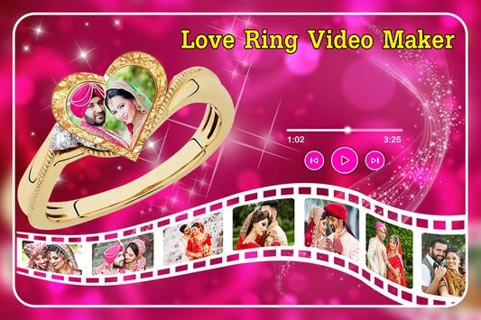 Love Ring Video Maker Cartaz