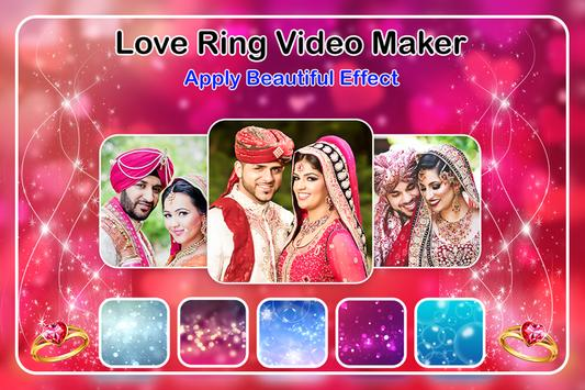 Love Ring Video Maker imagem de tela 3