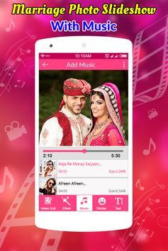 Marriage Photo Slideshow With Music screenshot 4