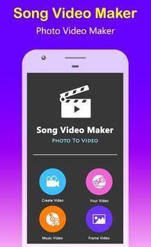 Song Video Maker - Photo Video Maker screenshot 3