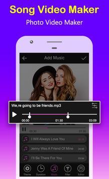Song Video Maker - Photo Video Maker screenshot 1