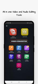Video Converter, Compressor MP4, 3GP, MKV,MOV, AVI स्क्रीनशॉट 1