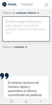 Deepl Translator screenshot 2