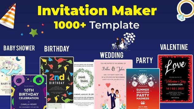 Invitation Maker imagem de tela 7