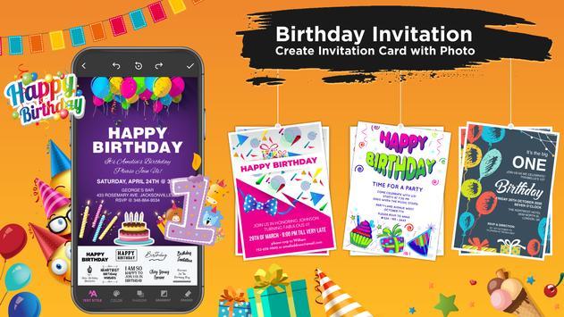 Invitation Maker imagem de tela 9