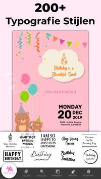 Uitnodiging Maken Verjaardag & Trouwkaart Gratis screenshot 5