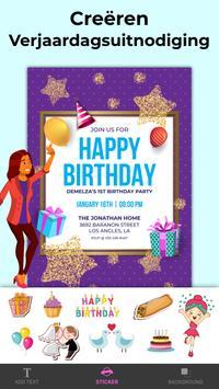 Uitnodiging Maken Verjaardag & Trouwkaart Gratis screenshot 8