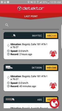 Detektor Tracker screenshot 2