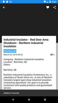 Jobs In RED DEER - Daily Job Update screenshot 1