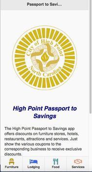 High Point Passport to Savings screenshot 1