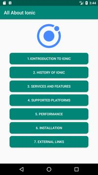IONIC poster