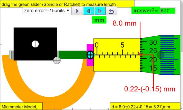 Micrometer Simulator screenshot 4