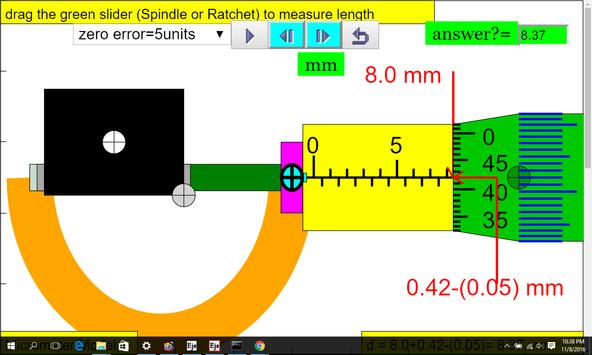 Micrometer Simulator screenshot 5