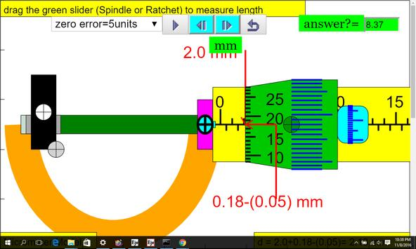 Micrometer Simulator screenshot 6