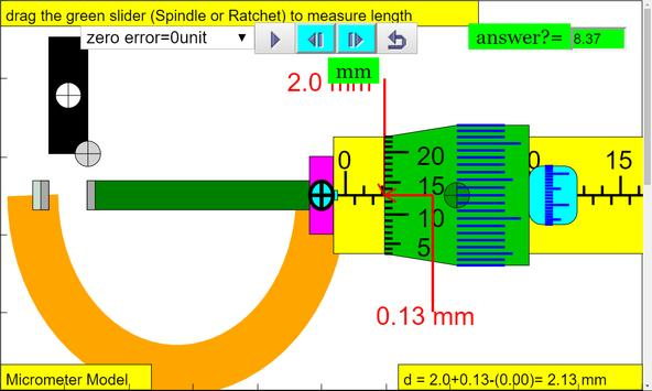 Micrometer Simulator screenshot 7
