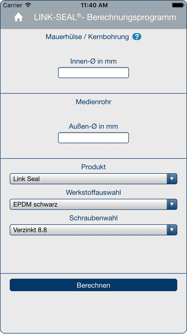 PSI LINK-SEAL® Calculation for Android - APK Download