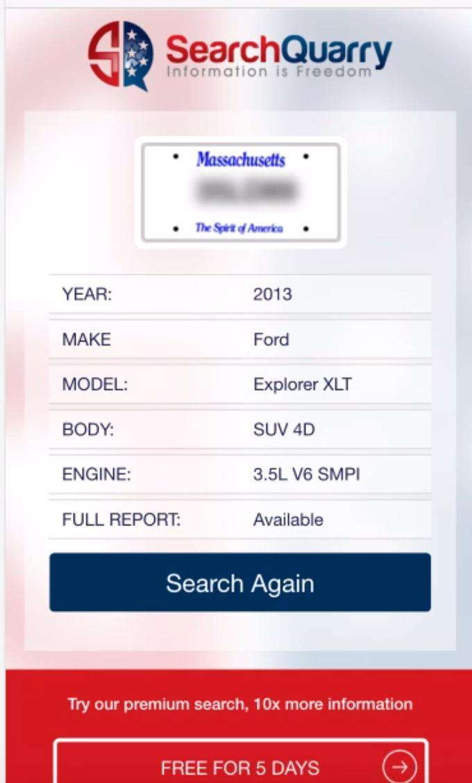 Free License Plate Search App for Android - APK Download