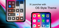 X Launcher: With OS12 Style Theme & Control Center