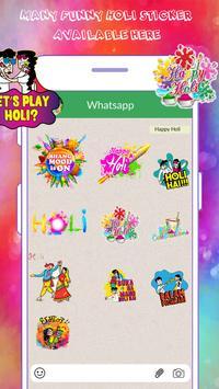 Holi Sticker For WP screenshot 2