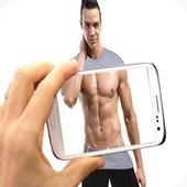 Body Scanner xray Real Camera Prank Entertaintment icon