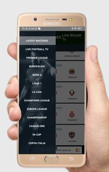 2 Schermata Live Soccer tv - Live Football App
