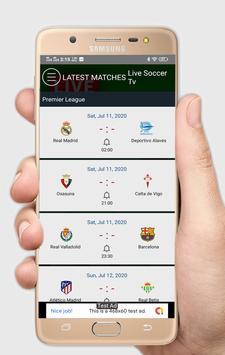 3 Schermata Live Soccer tv - Live Football App
