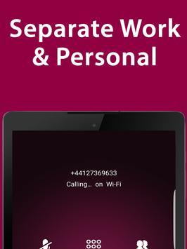 2nd Line: Second Phone Number US Canada 800: iPlum screenshot 11