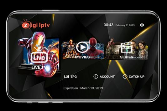 ZigiTV Pro screenshot 1