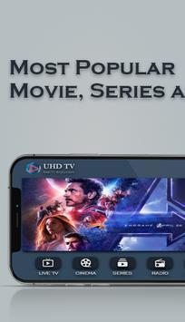 UHD IPTV Player imagem de tela 1