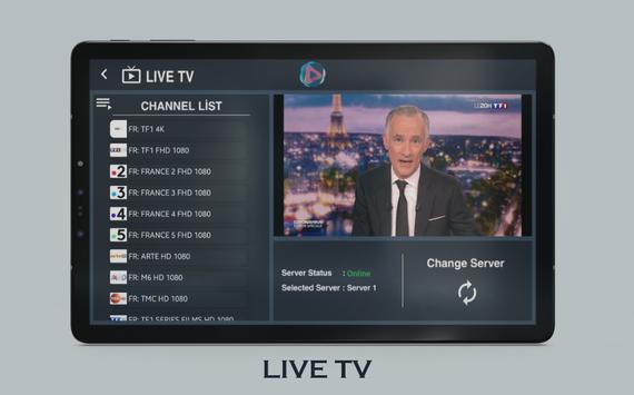 UHD IPTV Player imagem de tela 8