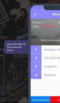 Movies - Quiz screenshot 7