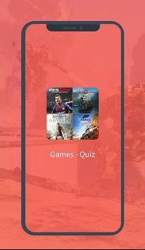 Games - Quiz poster