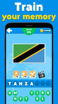Flags quiz game - guess the flag on the picture screenshot 4