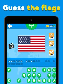 Flags quiz game - guess the flag on the picture screenshot 5