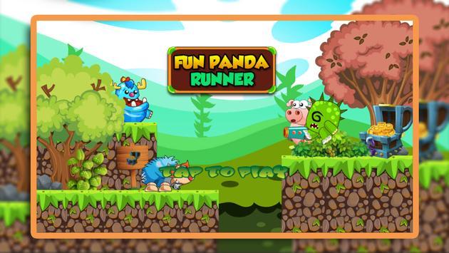 Fun Panda Runner poster