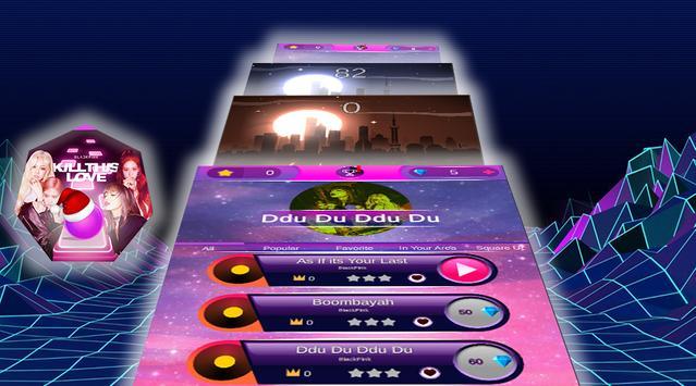 BLACKPINK Tiles Hop :Piano KPOP EDM Rush 2020 poster