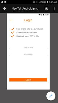 Newtel - Cheap International Calls screenshot 2