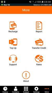 Newtel - Cheap International Calls screenshot 3