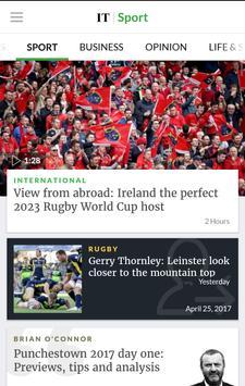 Irish Times News 스크린샷 1