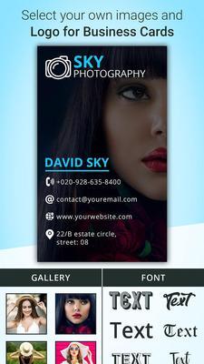 Business Card Maker Screenshots