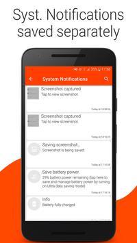 Notilog - Notification Logger screenshot 1
