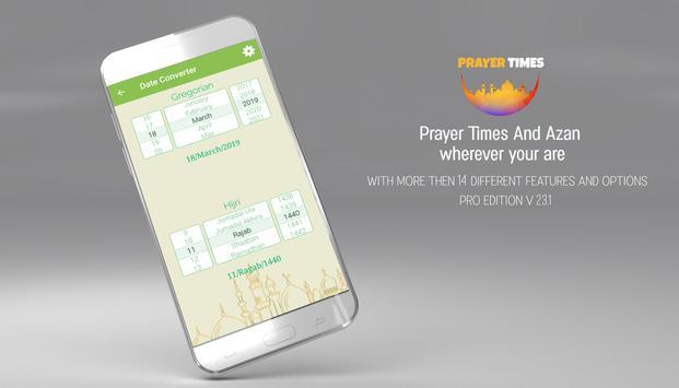 Prayer Times PRO , Auto Azan Reminder screenshot 3