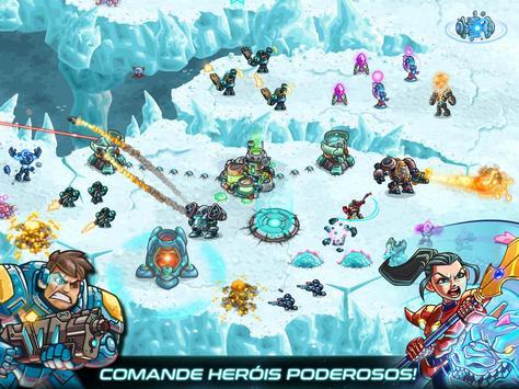 Iron Marines: jogo rts de estratégia em tempo real imagem de tela 10